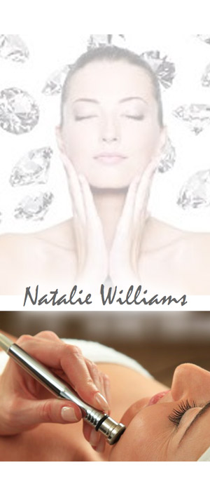 Professional Diamond Microdermabrasion Facial , Juan Les Pins by qualified independent beautician Natalie Williams. Beauty sessions in the comfort of your own home