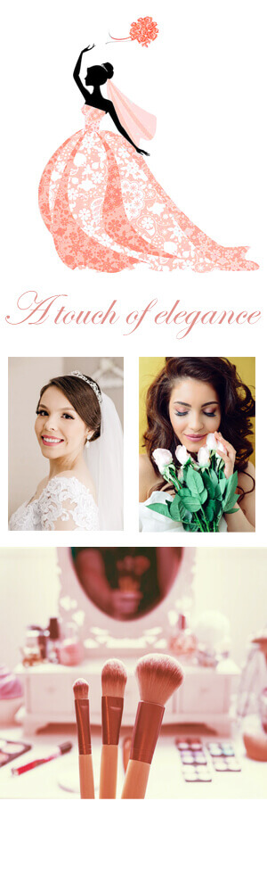 Professional Weddings on the French Riviera , a luxury high end discreet mobile beauty service to ensure you and your bridal party are looking and feeling amazing On the big day.